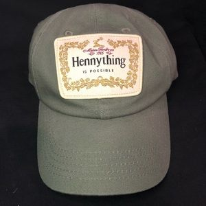 """""""Hennything is possible"""" dad hat army green"""